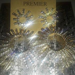 Premier Rhinestone Earrings